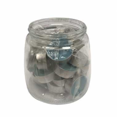 25x theelichtjes/theelichtjes oceaan geur in pot