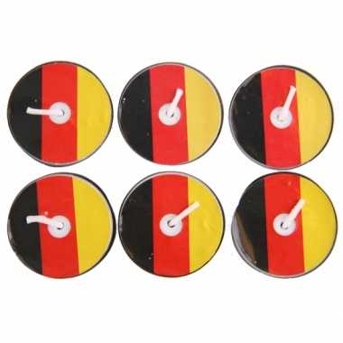 Theelichtjes Duitsland 6 stuks
