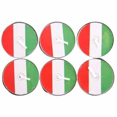 Theelichtjes Italie 6 stuks